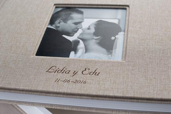 Álbum de boda calipso fotografía de bodas